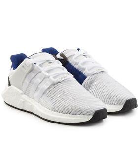 Details about adidas Originals EQT Support 93/17 UK 3.5 - 8 White Blue & Black Trainers BZ0592