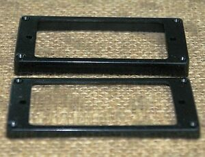 Guitar-Humbucker-Replacement-Mounting-Ring-Set-New-Black