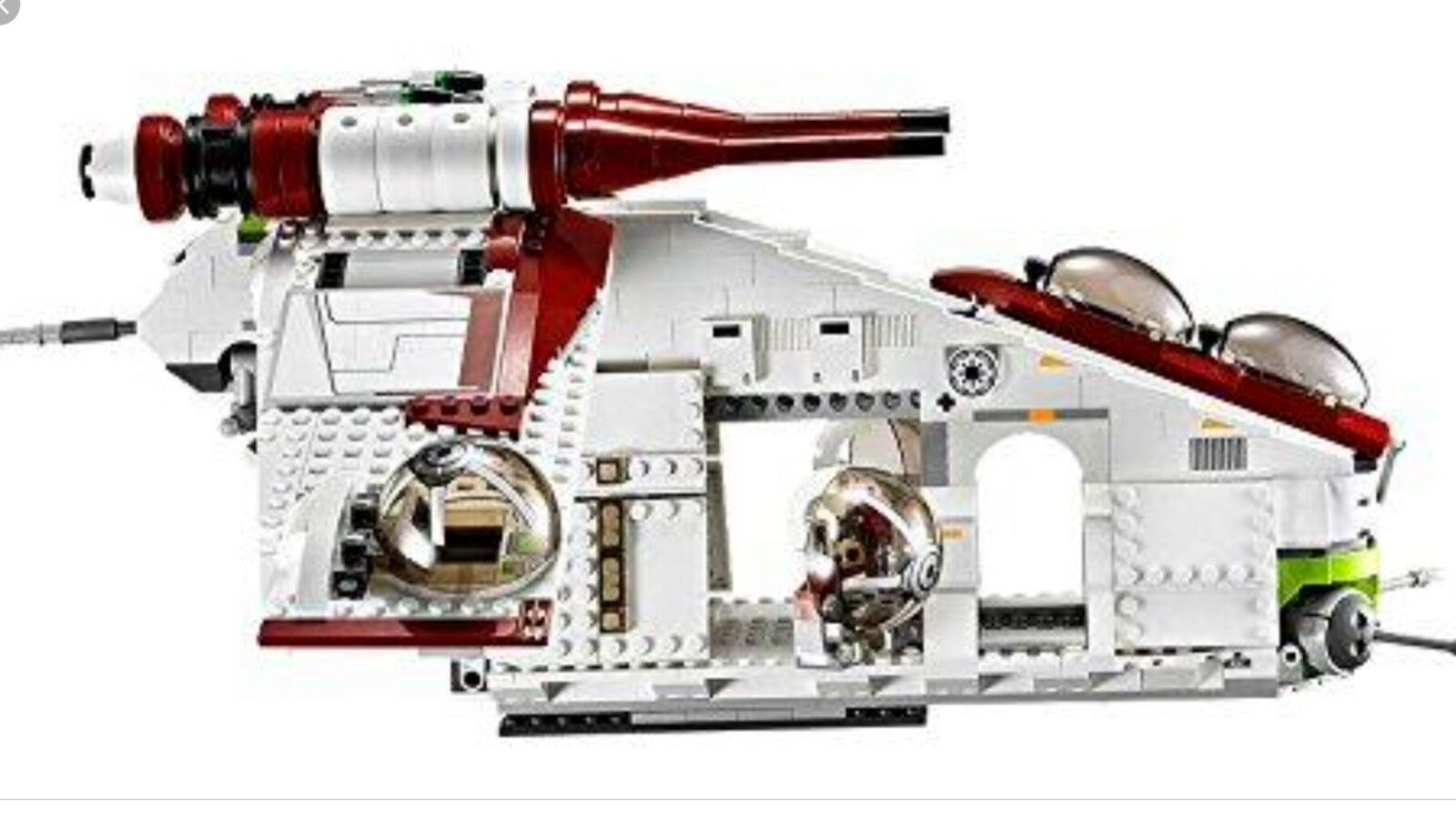 Star Wars Lego REPUBLIC GUNSHIP from set 75021 SET ONLY NO MINIFIGURES OR BOX