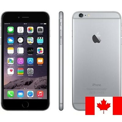 USED iPhone 6 16gb/64gb/128gb GSM Unlocked Smartphone in Gold, Silver or Gray