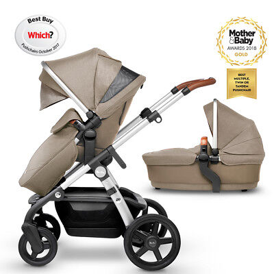 Silver Cross Wave Simplicity Tandem Car Seat Adapters Baby Infant Pushchair