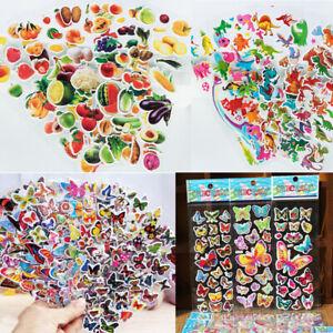 3PCS-Butterfly-Animal-Alphabet-Cartoon-Kids-Nurse-ry-3D-padded-Decor-Stickers