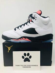 b3134bc4dbaf64 Nike Air Jordan 5 Retro  Sunblush  440892-115 GS Size 7Y-7.5Y