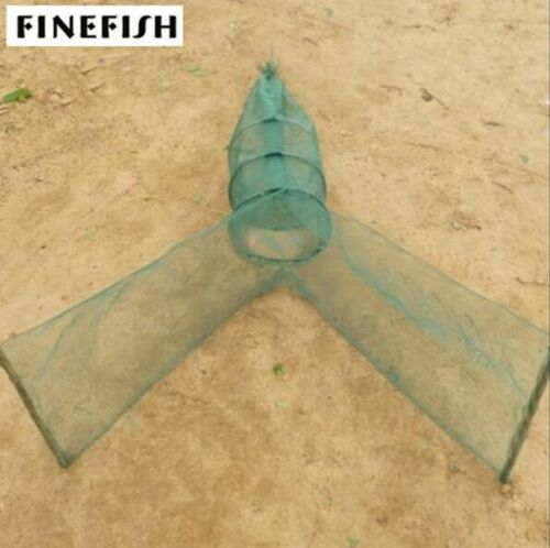 4 size Automatic Landing Foldable Fishing Net Trap Lure Catch Crab Fish Shrimp