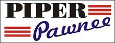 A101 Piper Pawnee Airplane banner hangar garage decor Aircraft signs