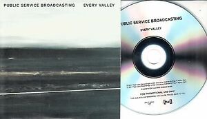 PUBLIC-SERVICE-BROADCASTING-Every-Valley-2017-UK-11-trk-numbered-promo-test-CD