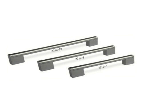 Cabinet Drawer Handles By CHSK Model 3312 Stainless Steel (25 Pc)