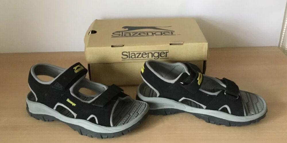 Garçons Slazenger Casual Vague Sandales Vacances Été Chaussures Chaussures Taille 2 Neuf