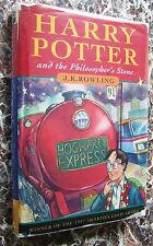 TRUE First Edition(UK)Harry Potter&the Philosopher/Sorcerer's Stone,1997~Rowling