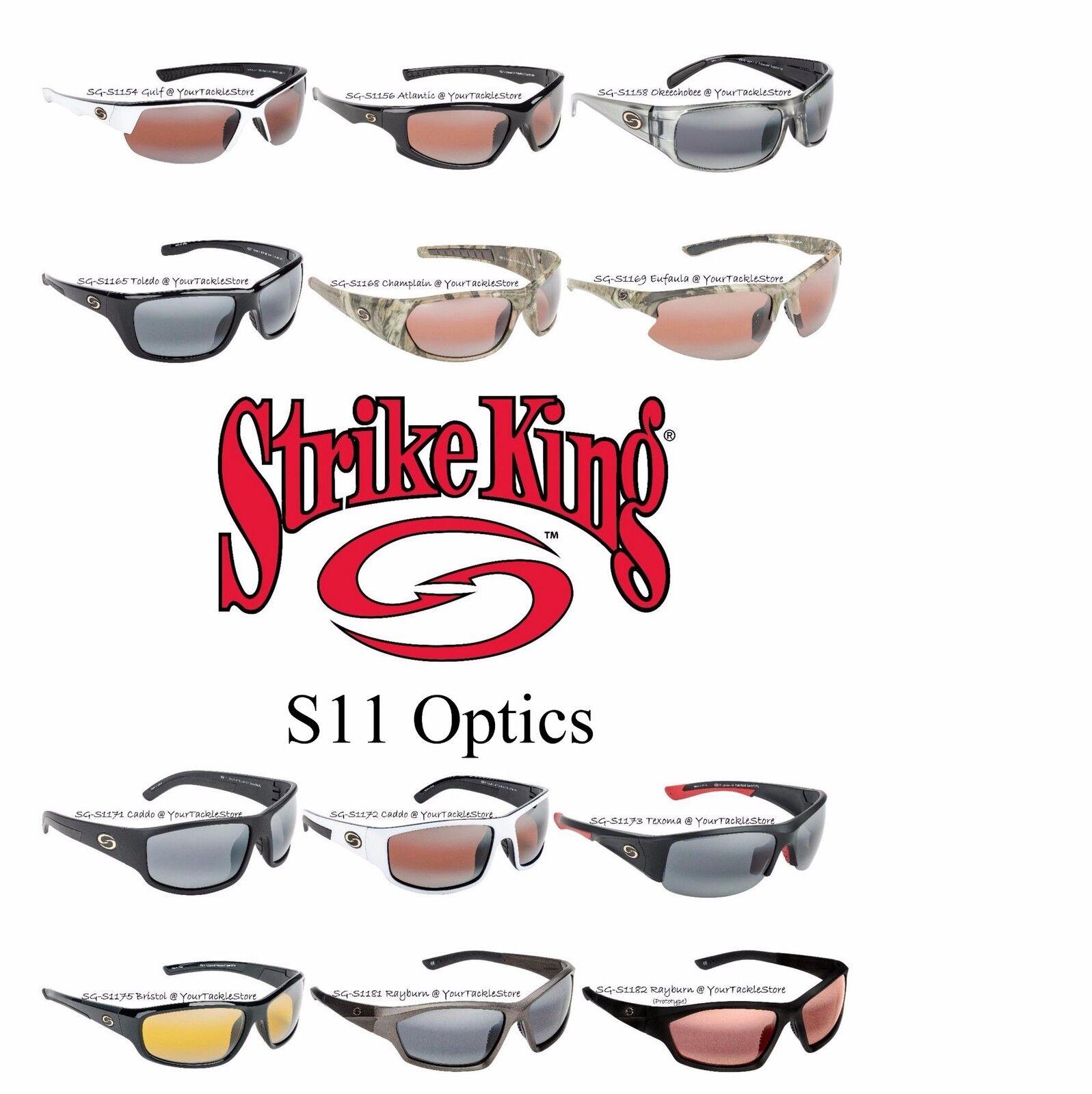 3518fa023ba Strike King Lures S11 Optics Sunglasses for sale online