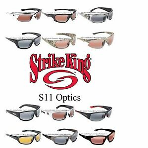 fe52d20c77 Image is loading Strike-King-SG-S11-Optics-100-Polarized-Sunglasses-