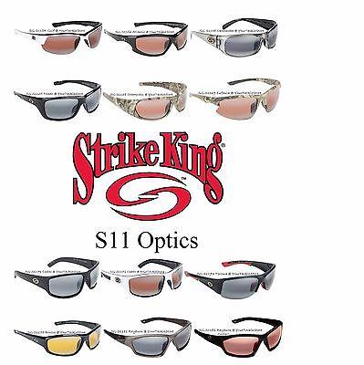 2d568ef596 Strike King SG - S11 Optics 100% Polarized Sunglasses Choose Model Men    Women