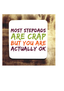 Image Is Loading FUNNY STEPDAD GIFT IDEA COASTER STEP DAD STEPFATHER
