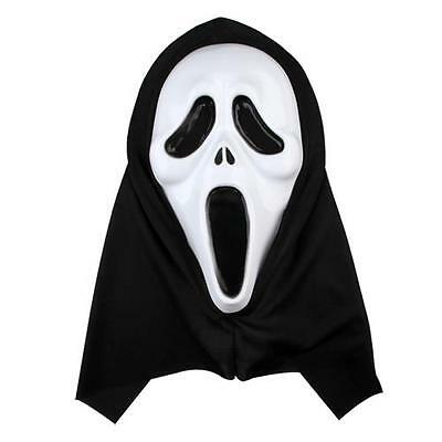 Scream Witch Face Mask Costume Party Halloween Cosplay HOT Horrible Black