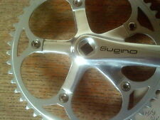 "SUGINO RIGHT HAND CRANK, 170mm, TRACK, PISTA 1/8"" 50 TOOTH RING"