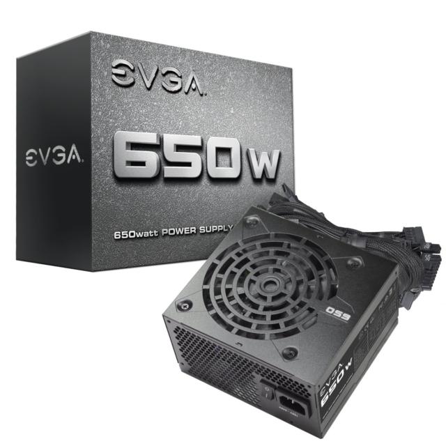 EVGA 650 N1 Power Supply 650W - Black