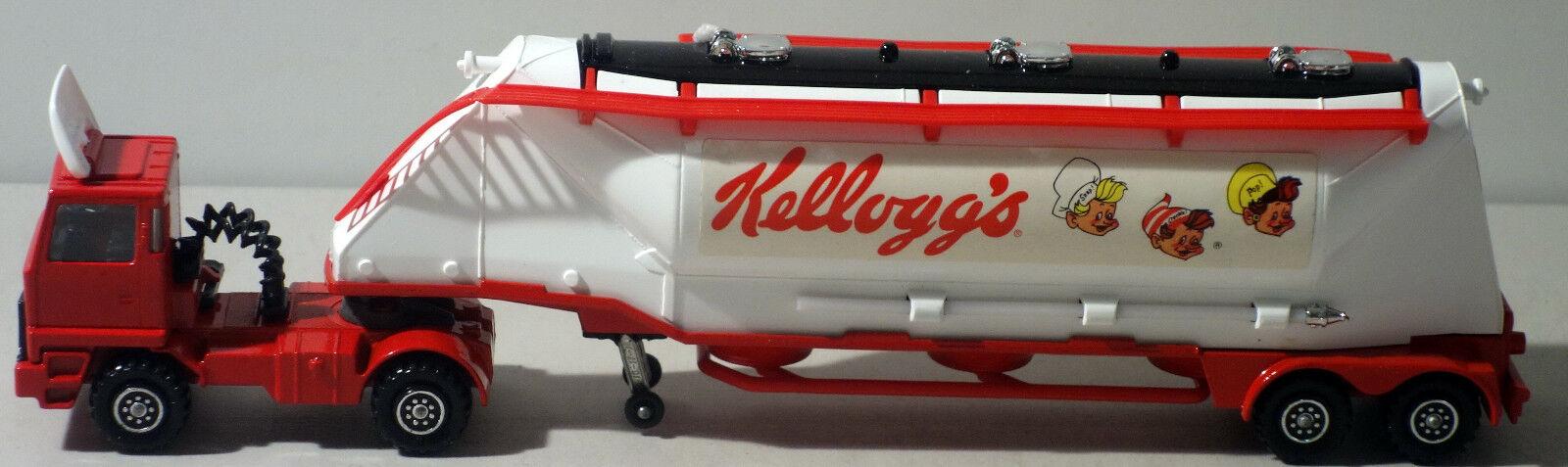DTE LESNEY MATCHBOX SUPERKINGS SK-3 LARGE  KELLOGG'S    GRAIN TRANSPORTER a99175