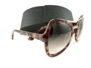 34f606da5be6 Image is loading Prada-Sunglasses-SPR18S-Pink-Brown-UE00A6-Authentic-New