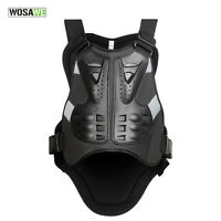 Motorcycle Bike Back Protector Body Armor Racing Vest Black