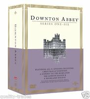 ❏ Downton Abbey Series 1 - 6 DVD + Xmas Specials Complete Seasons ❏ 1 2 3 4 5 6
