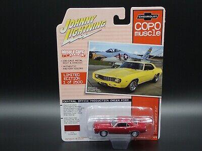 2020 JOHNNY LIGHTNING 1969 CHEVROLET CORVETTE ZL1 MUSCLE CARS USA VS B REL 3