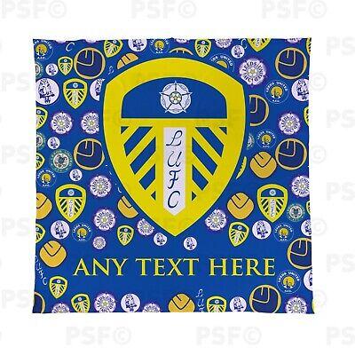 Entusiasta Leeds United Fc Ufficiale Personalizzata Lufc Creste Tutta Coperta Copriletto Lfb010- Con Una Reputazione Da Lungo Tempo