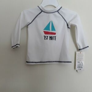 c9a2cb91c100a Boys long sleeve swim shirt brand baby Cat & Jack new with tags ...