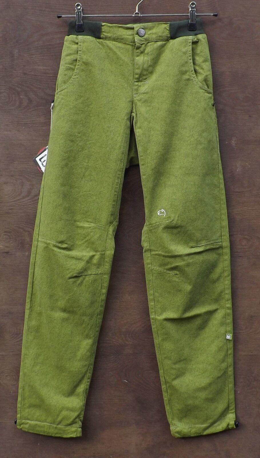 E9 Golia W17 Climbing pantaloni for uomini Apple GR XS