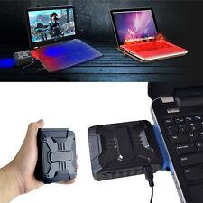 Mini USB Luft Abluft Kühlventilator CPU Kühler für Laptop PC schwarz TOP Lüfter