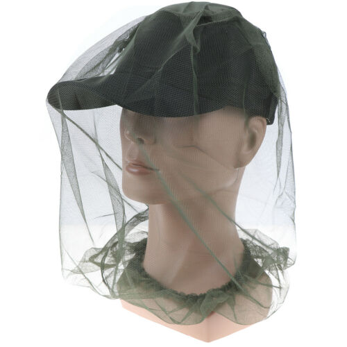 Midge mosquito hat outdoor insect hat fishing insect bee fly mozzie bug mesh mmo