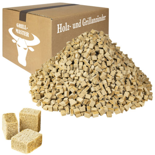 2,07€//1kg Anzündwürfel Kaminanzünder OKÖ Grillanzünder HolzWachs Anzünder 28kg
