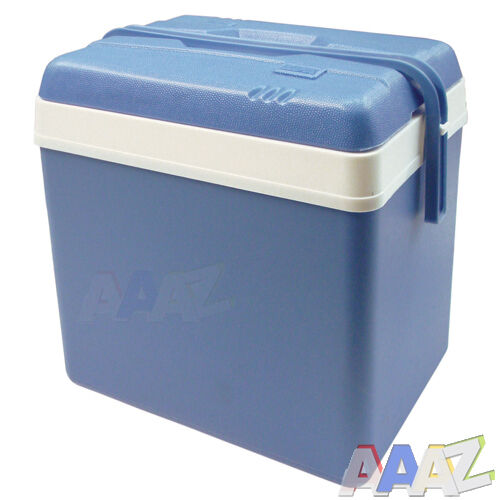 24L COOL BOX LARGE COOLER BOX CAMPING PICNI BEACH ICE FOOD INSULATED LITRE