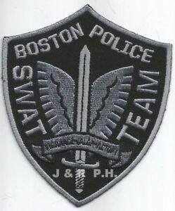 Polizei Abzeichen Police Patch USA POLICE Boston Strong 4-15-13 Marathon SWAT
