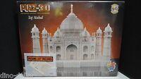 Taj Mahal 1077 Piece 3D Puzzle by WREBBIT, Year 1995 - 00772666008125 Toys