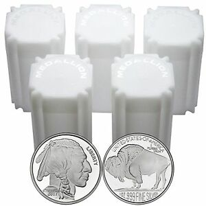 2017 American Buffalo 1oz 999 Silver Medallion By