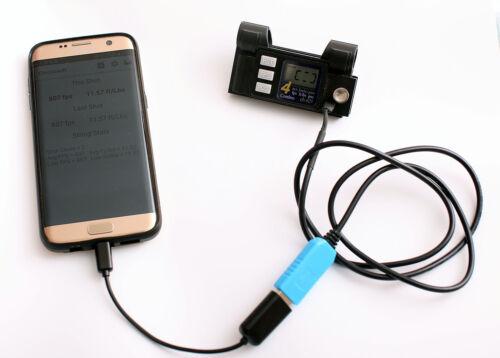 Windows Combro Chronoscope cb 625 USB Serial cable