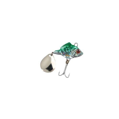Spro ASP Jiggin Spinner 10g Green//Beige
