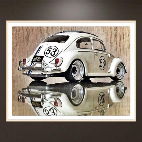 DIY 5D Diamond Embroidery Car Design Painting Cross Stitch Craft Home Decor