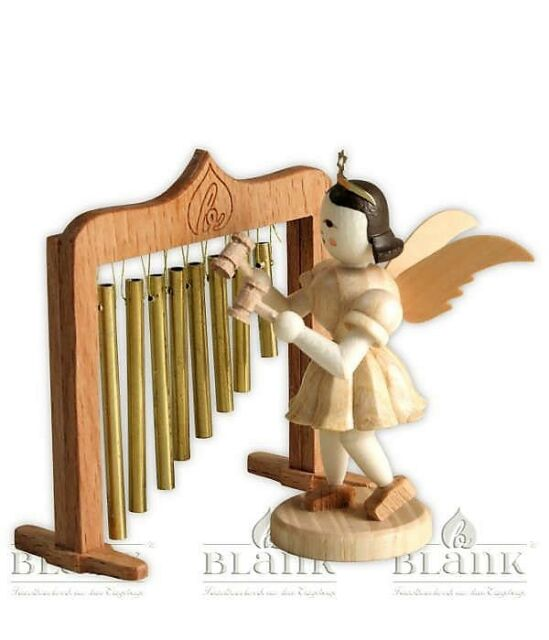 Natur Kurzrockengel Blank Engel an der Orgel
