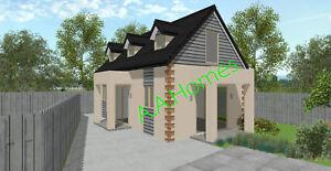 Rosemei-Grace-78m-Steel-Frame-Cape-Cod-Kit-Home