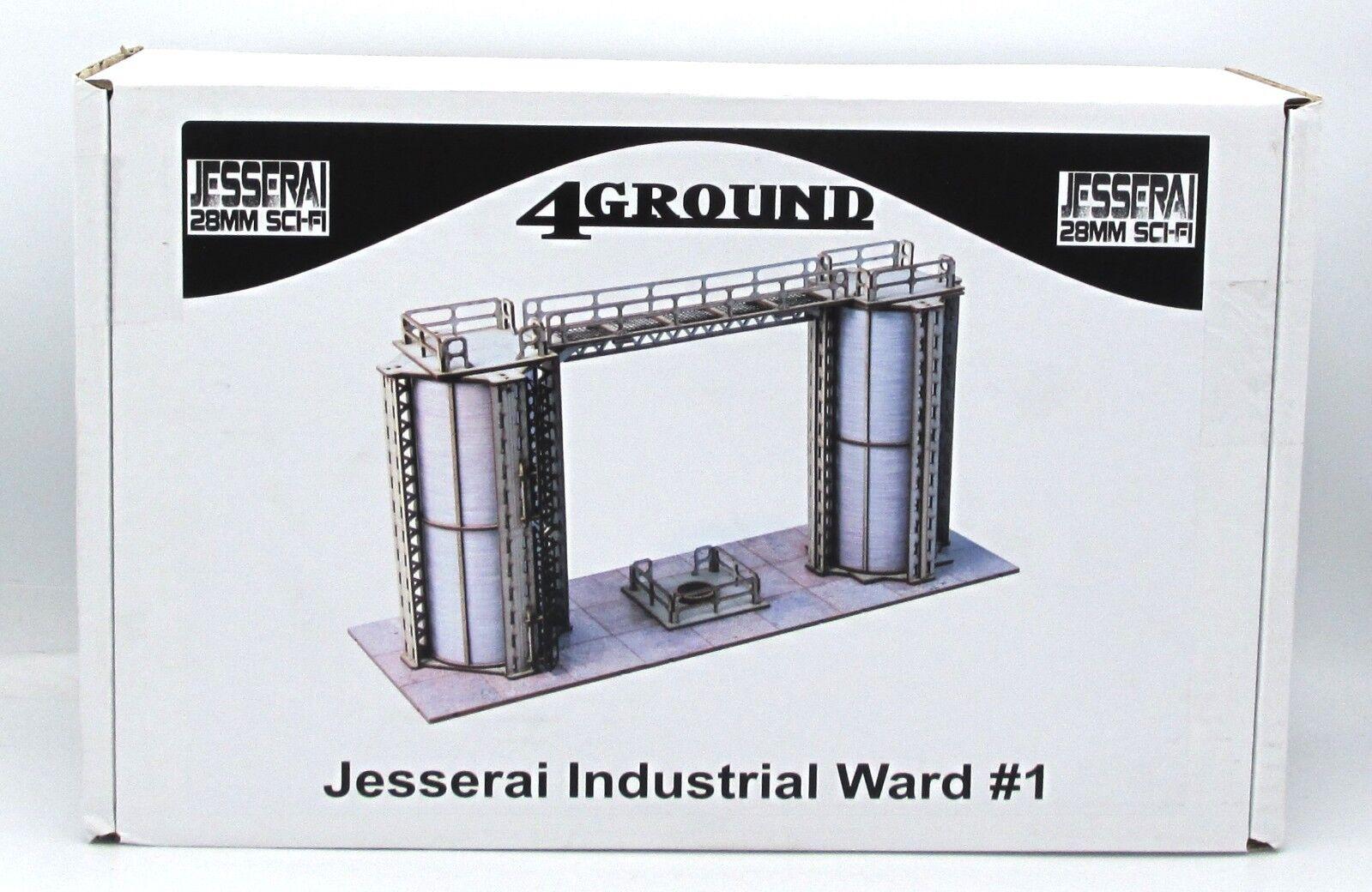 4ground 28s-jes-110 jesserai industriellen ward   1 (keine magnete) 28 mm sci - fi - gelände