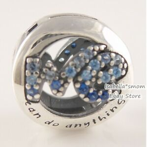 We Can Do Anything Genuine Pandora Blue The Power Is In Me Unicef Charm W Box Ebay