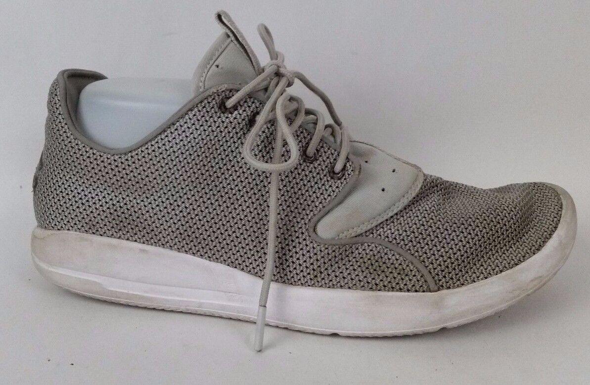 Nike Jordan Eclipse Dust Grey Mist White US Mens 8.5 M 724010-003 Sneaker shoes