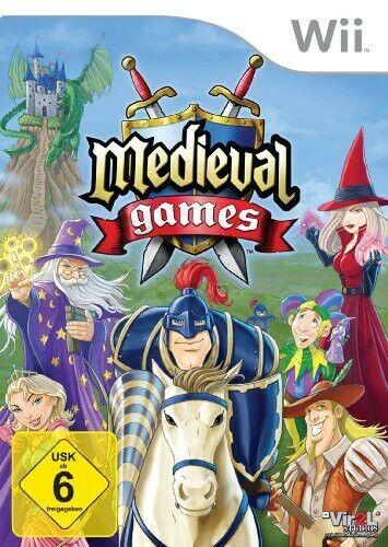 Nintendo Wii jeu - Medieval Games dans l'emballage utilisé