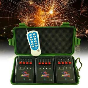 12-Cue-Wireless-Fireworks-Firing-control-system-equipment-Remote-12pcs-Igniters