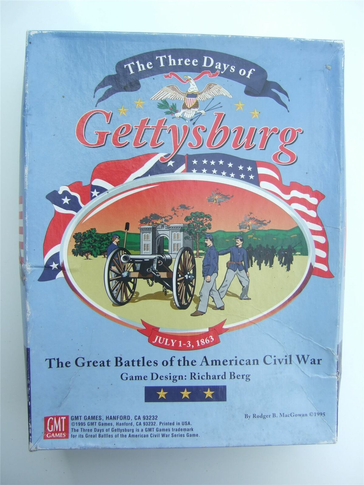 I tre giorni di Gettysburg da GMT  giocos (prima edizione)  spedizione gratuita!