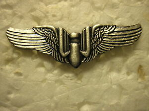MILITARY-HAT-PIN-U-S-AIR-FORCE-WWII-GUNNER-WINGS