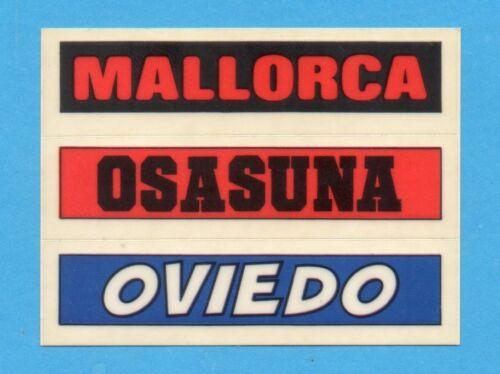 PANINI ESPANA-FUTBOL 90-Figurina x Poster-MALLORCA+OSASUNA+OVIEDO NEW