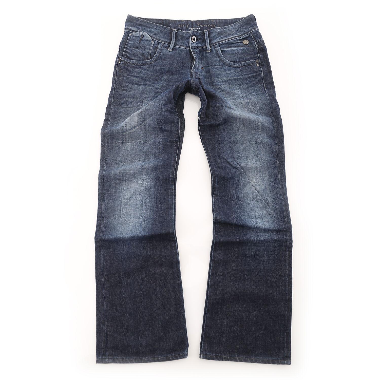 G -stjärna 3301 Lose wm Royce byxor jeans för kvinnor nio haines denim ny