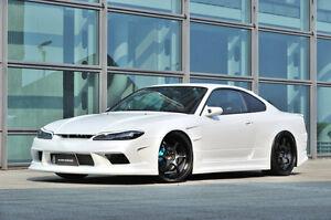 Jdm Nissan Silvia S15 Vertex Edge Style Bodykit Widebody